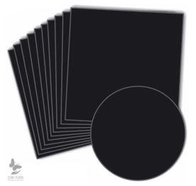 Lot de 10 papiers noir 6.49
